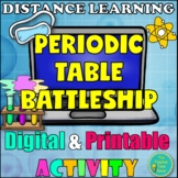 Periodic Table of Elements Battleship Activity | Distance