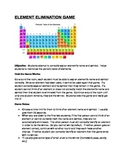 Periodic Table of Elements Elimination Game