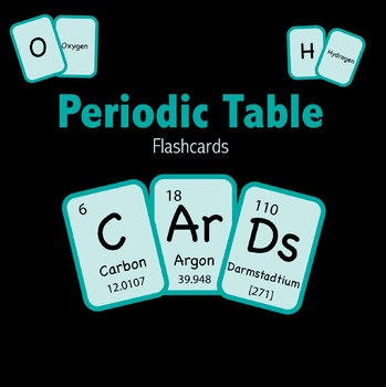 Periodic table of elements flashcards by pedersen post tpt periodic table of elements flashcards urtaz Images