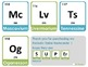 Periodic Table of Elements Flashcards