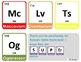 Periodic Table of Elements Flashcards - Rainbow