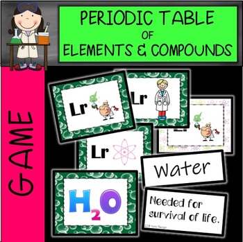 Periodic Table of Elements Game