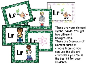Periodic Table of Elements and Compounds Game