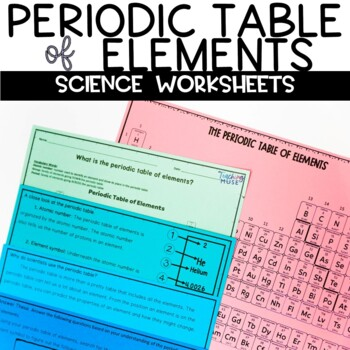 Periodic table of elements activities teaching resources teachers periodic table of elements nonfiction article and activity urtaz Gallery