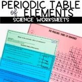Periodic Table of Elements Nonfiction Article and Activity