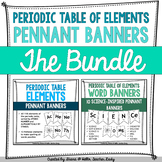 Periodic Table of Elements - Pennant Banner Posters - THE BUNDLE