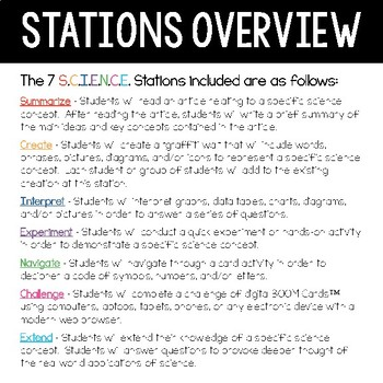 Periodic Table of Elements - S.C.I.E.N.C.E. Stations