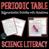 Periodic Table of Elements - Science Literacy Article
