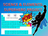 PROJECT: Periodic Table of Elements Superhero
