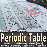 Periodic Table for Chemistry Interactive Notebooks and Lapbooks