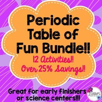 Periodic Table of Fun Bundle!! 12 Activities!! Over 25% Savings!!