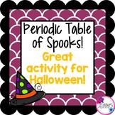 Halloween Science: Periodic Table Activity