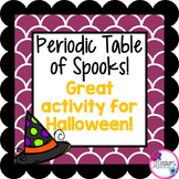 Halloween Science: Periodic Table Activity