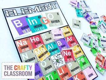 Periodic Table of the Elements Activity Pack