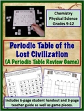 Periodic Table Review Game