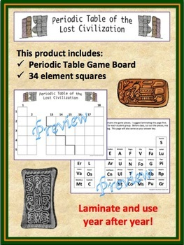 Periodic table review game by amy brown science tpt periodic table review game urtaz Images