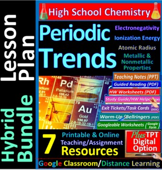 Periodic Trends, Ionization Energy, Electronegativity: Essential Skills  Wksht #8