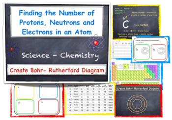 Periodic Table - Protons, Electrons, and Neutrons & Bohr - Rutherford Diagram