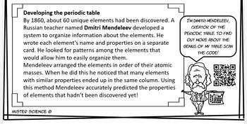 Periodic table metals metalloids nonmetals jr high TEKS 6.6A 8.3D 8.5B, C STAAR