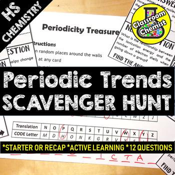 Periodicity TREASURE HUNT Activity