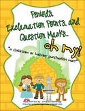 Periods, Exclamation Points, and Question Marks... Oh My!  Fun Punctuation Hunt
