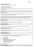 Periods in Geologic History - Project Outline