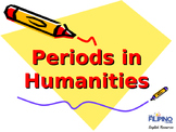 Periods in Humanities