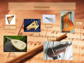 PowerPoint: Periods of Classical Music - Medieval/Renaissance