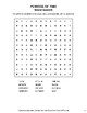 Periods of Time - Word Search, Scramble,  Secret Code,  Crack the Code