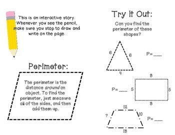 Perimeter Peri's Big Race- How to find the Perimeter