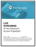 Periscope in the Classroom Permission Slip