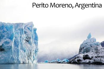 Perito Moreno, Argentina Poster: Digital Download