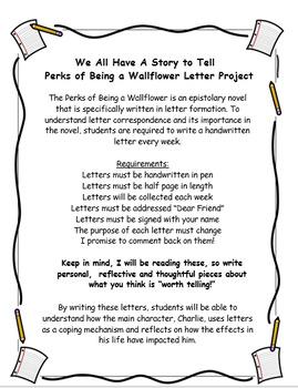 Perks Of Being A Wallflower - Handwritten Letter Project
