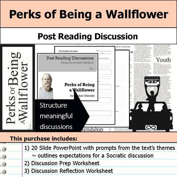 Perks of Being a Wallflower - Socratic Method - Post Reading Discussions