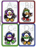 Perky Penguins Alphabet Trace Flip Book