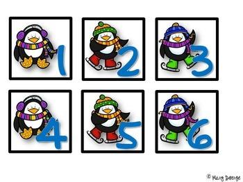 Perky Penguins Calendar Set
