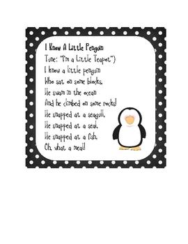 Perky Penguins Multidisciplinary Thematic Unit