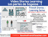 Perles de Sagesse 1 - Video French Stories Learning Series
