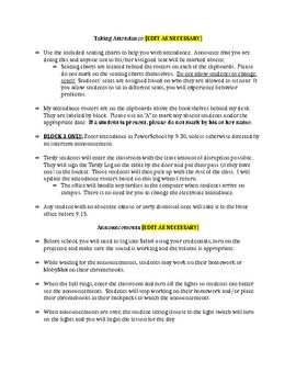 Permanent Sub Information