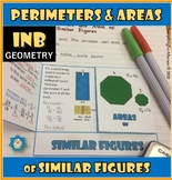 Perimeters and Areas of Similar Figures Foldable