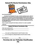 Permission Slip PG Movie (English/Spanish)