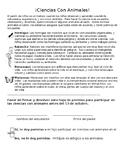 Permission Slip for a Class Pet - SPANISH EDITABLE