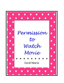 Permission To Watch Movie Form