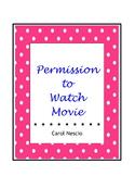 Permission To Watch Movie Form