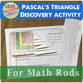 Pascal's Triangle Guided Discovery thru Permutations with Math Rods