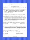 Permutations & Combinations Worksheet