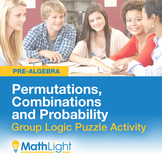 Permutations, Combinations and Probability- Group Activity