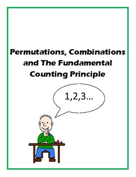Permutations, Combinations, and The Fundamental Counting Principle Card Sort