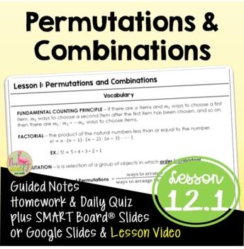 Algebra 2: Permutations & Combinations