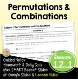 Permutations & Combinations (Algebra 2 - Unit 12)